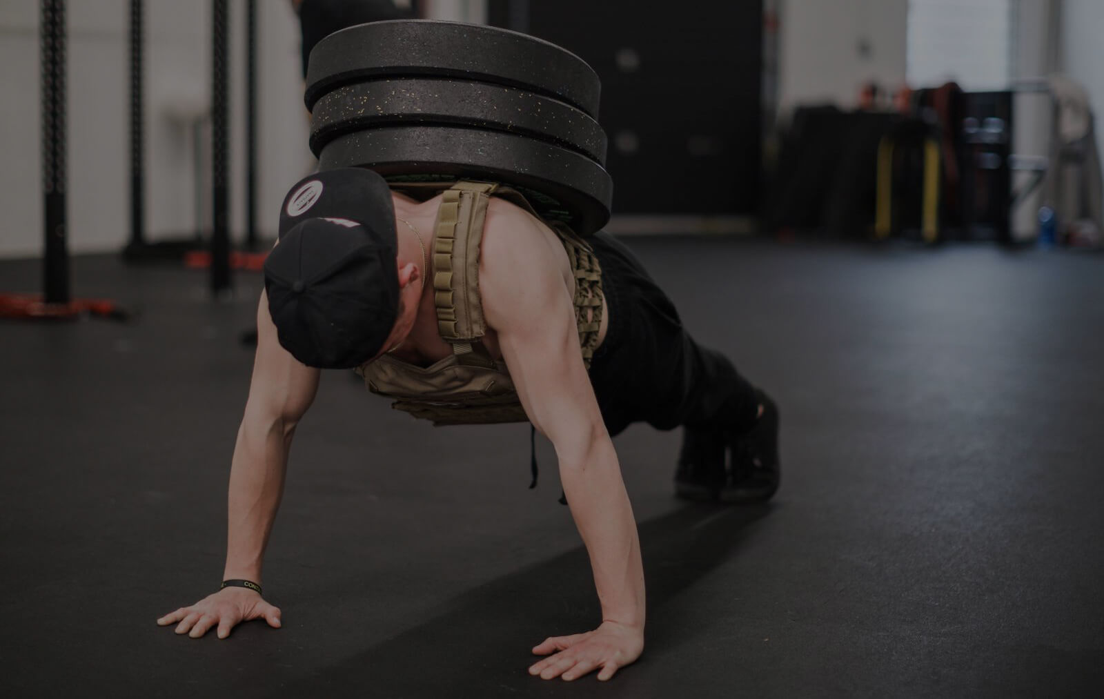 weighted pushups calisthenics move